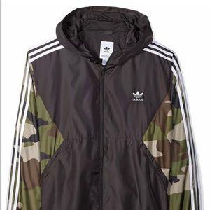 Men's Adidas Camouflage Windbreaker